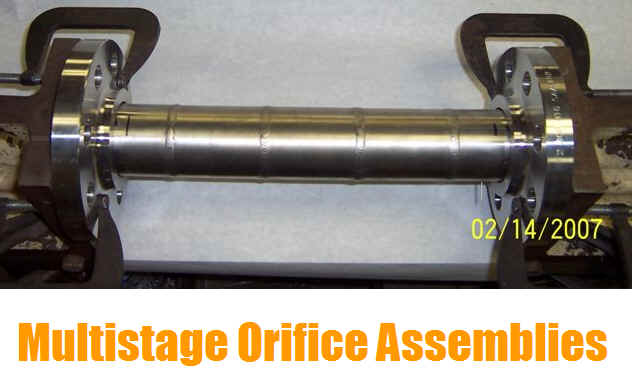 Multistage Orifice Assembly